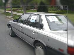 Image car curbstoning scam