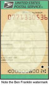 Image of counterfeit money orders